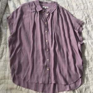 Violet Madewell Button-up NWT